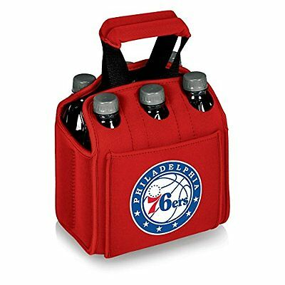 Picnic Time Washington Wizards - Six Pack Beverage Carrier -Red NEW