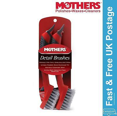 Mothers Car Vehicle Care Detail Brush Set