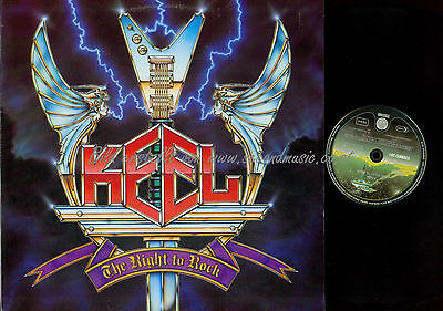 Lp--Keel The Right To Rock