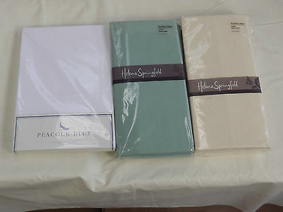 """Single brushed cotton flannelette fitted sheet 3' x 6'3"""" bed"""