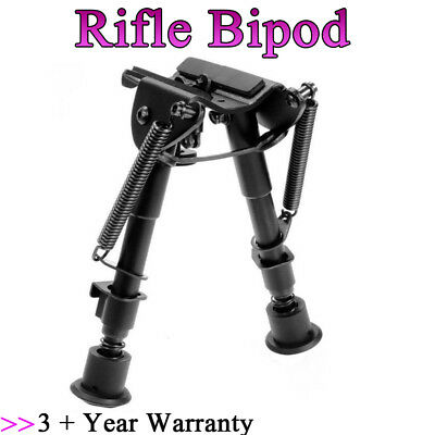 "6"" to 9"" Harris Style Bipod Adjustable Universal Picatinny Rail Mount Foldable"