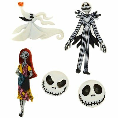 Dress It Up: Button Embellishments - Disney - Nightmare Before Christmas