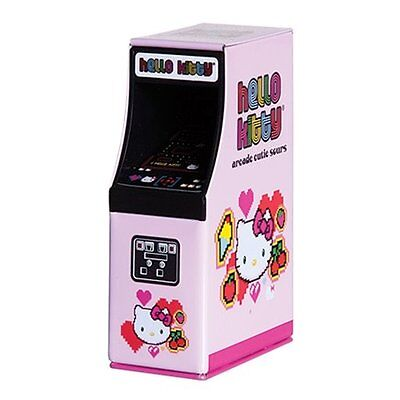 Hello Kitty Arcade Cutie Sours in Arcade Game Shaped Container, NEW SEALED