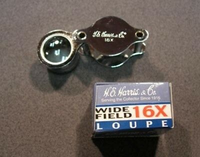 H.e. Harris Wide Field 16X Folding Loupe