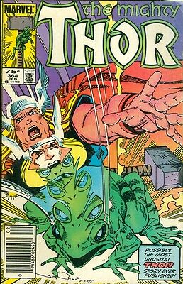 1986 The Mighty Thor Comic Book #364