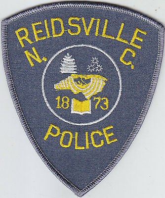 Reidsville NC North Carolina Police patch GREY/GRAY VERSION