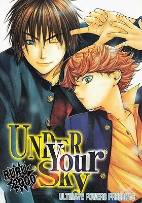 Hikaru no Go Doujinshi Dojinshi Kaga x Mitani Under Your Sky Ultimate Powers