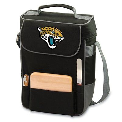 Picnic Time Jacksonville Jaguars Duet Wine & Cheese Tote