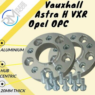 Vauxhall Astra H VXR Opel OPC 20mm ALLOY Hubcentric Wheel Spacers 1 pair