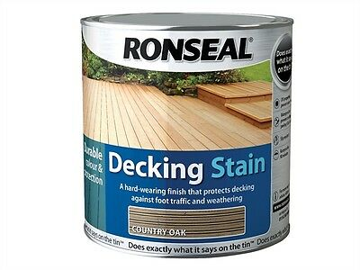 Ronseal Decking Stain Rich Teak 2.5 Litre