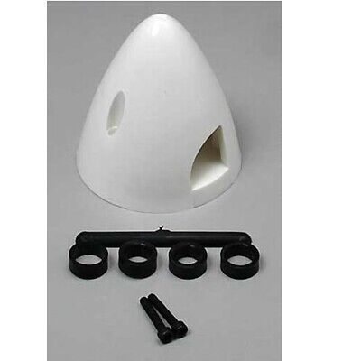 """DuBro 266 1-3 / 4"""" Spinner White for Airplanes / Standard Spinners"""