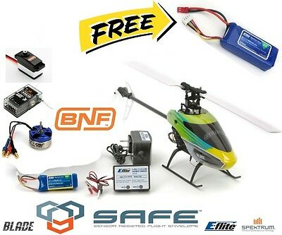 Blade BLH1580 230S BNF Helicopter with SAFE® Technology + Free Battery