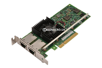 Intel X540-T2 10GB LOW PROFILE Dual Port Network Card 3DFV8