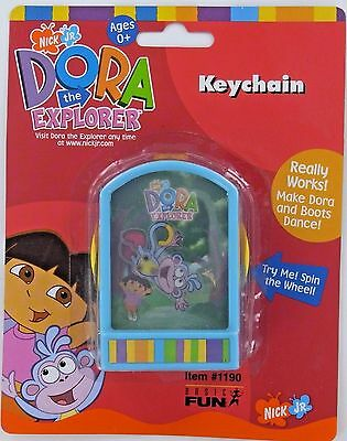 Dora Explorer BOOTS Monkey Dancing Action Keychain Keyring Toy Basic Fun NEW