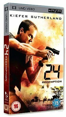 24 - Redemption  DVD Kiefer Sutherland, Kim Raver, Mary Lynn Rajskub, Robert Car