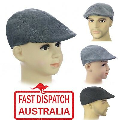 Kid Child Page Boy Baseball Wedding Party Ivy Flat Newsboy Pageboy TWEED Cap Hat