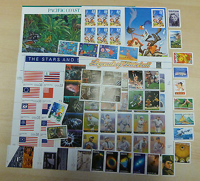 USPS 2000 Stamp Commemorative Year set  99 stamps Mint NH OG