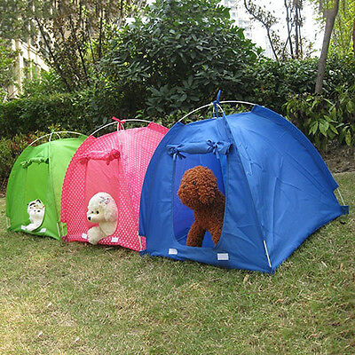 New Dog Cat Tent Collapsible Puppy Kitten House Pet Kennel For Indoor Outdoor