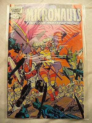Micronauts  Stan Lee Charnel House Marvel Vol 1 - #44 April 1982 Comic books