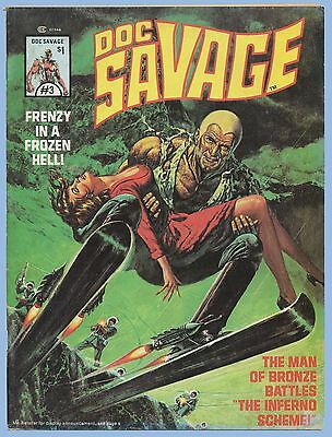 VINTAGE - DOC SAVAGE LOT OF TWO - Vol. 1, #3 and Vol. 1, #4 - 1976