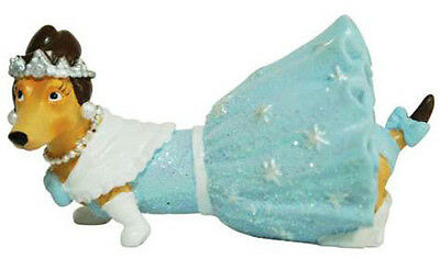 NEW Hot Diggity DACHSHUND Dog Figurine DEBUTANTE DIVA Weiner Statue PRINCESS
