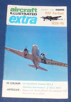 Aircraft Illustrated Extra Number 11 - Raf Far East 1939-1945