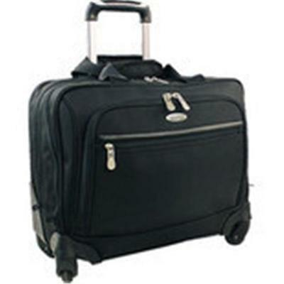 Luggage America Olympia 1680 D. Poly Ballistic Deluxe Rolling Overnighter
