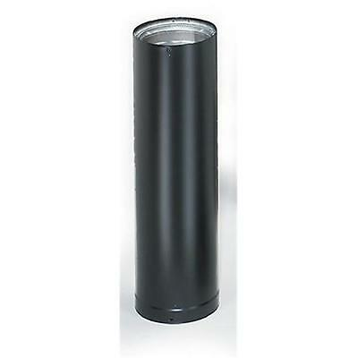 Lindemann 294806 6 Inches x 48 Inches Length Double Wall Black Stovepipe
