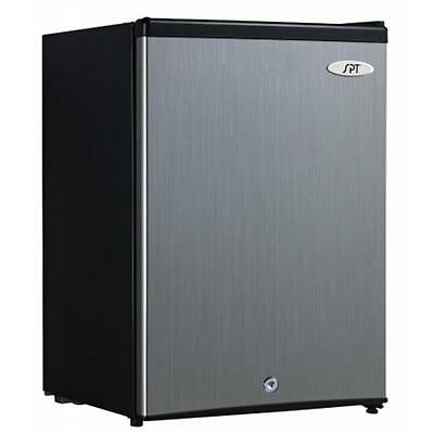 SUNPENTOWN UF-214SS 2.1 cu.ft. Upright Freezer with Energy Star Stainless Steel