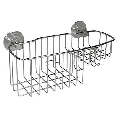 Interdesign 41720 Reo Stainless Steel Shower Combo Basket