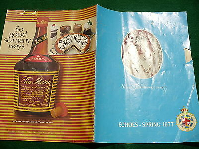 IODE Daughters of the Empire ECHOES spring publication 1977 silver jubilee
