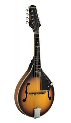 STAGG A-STYLE BLUEGRASS MANDOLIN w/ SOLID SPRUCE & MAPLE - GOLD BURST - M40 S