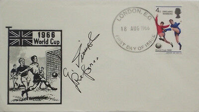 Signed Gottfried Dienst England 1966 World Cup Final Swiss Referee West Germany