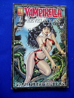 Vampirella Revelations Book 2 prototype edition . Harris 1st print.  VFN/NM.