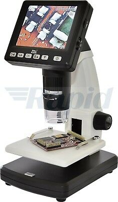 dnt Digimicro Lab5.0 USB Digital Microscope and Monitor 20x-200x, 500x