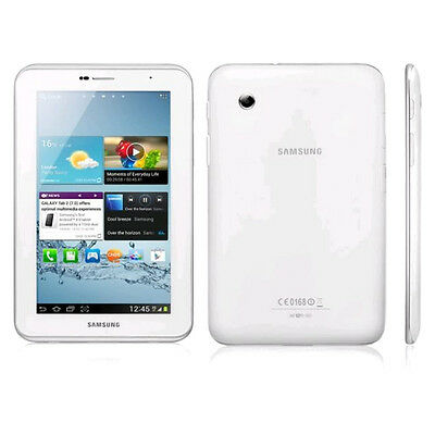 Samsung Galaxy Tab 2 GT-P3110 8GB, Wi-Fi, 7in - White Very Good Condition