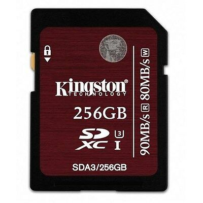 Kingston (256GB) SDXC Flash Card (Class 3)