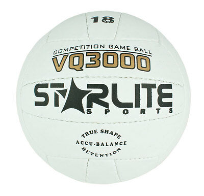 Leather Match Ball Volleyball White 64cm For All Surfaces-Beach-Net Ball-Size 5