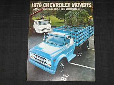 1970 Chevrolet Trucks 40 50  60 Conventional/Tilt Sales Brochure