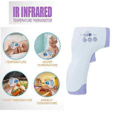 New Baby Digital IR Infrared Body Thermometer Forehead Adult Surface Temperature