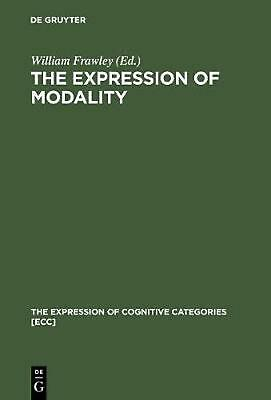NEW The Expression of Modality by Paperback Book (English) Free Shipping
