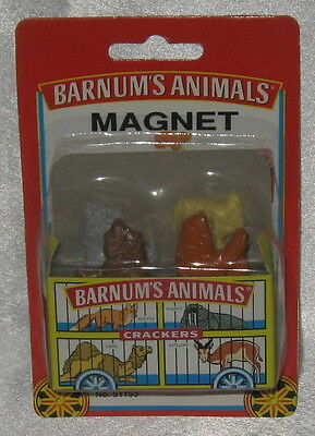 Barnum's Animals Crackers Magnet Nabisco New