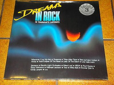 Dreams In Rock - 36 Traumhafte Superhits - 3 Lp Neu!!