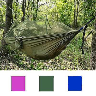Travel Outdoor Camping Hammock Hanging Tent Sleeping Bed w/ Sack ST304