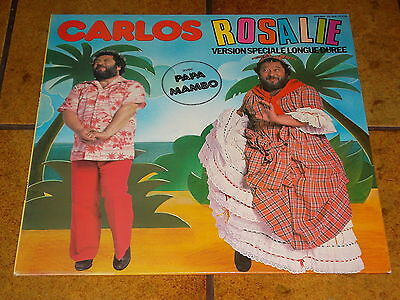 Carlos - Rosalie (Papa Mambo) - Lp France Near Mint!!