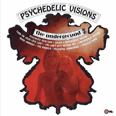 THE UNDERGROUND - Psychedelic Visions - LP 1967 WahWah
