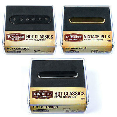 Tonerider Bridge Pickup: Hot Classics Bridge/Neck for Fender Tele/Telecaster