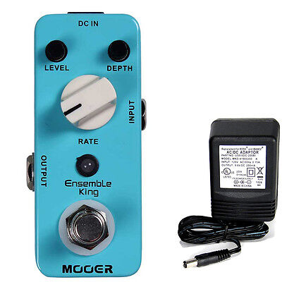 Mooer Audio Ensemble King Analog Chorus w/ 9v power supply free shipping!