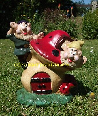 New Design Rubber Latex Mould Moulds Mold Gnome On Toadstool House