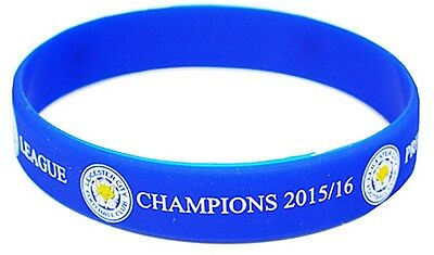 Leicester City FC Premier League Champions 2016 silicone wristband    (spg)